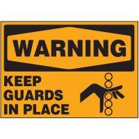 Machine Guard Warning Markers