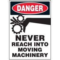 Moving Parts Warning Markers