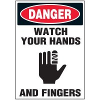 Watch Hands Warning Markers