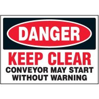 Keep Clear Warning Markers