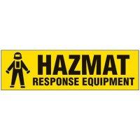 Magnetic Labels - Hazmat Response Equipment