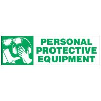 Personal Protective Equipment Magnetic Cabinet Label