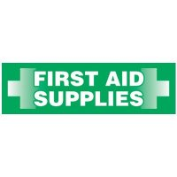 Magnetic Labels - First Aid Supplies