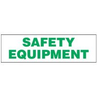 Magnetic Labels - Safety Equipment