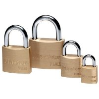 Master Lock® Keyed-Different Brass Padlocks