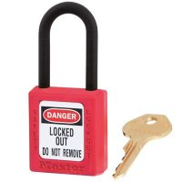 Master Lock® 406 Dielectric Thermoplastic Safety Padlock Sets