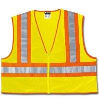 MCR Safety ANSI Class 2 Safety Vest  WCCL2LFRXXL