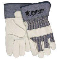 MCR Memphis® Mustang® Premium Grain Leather Palm Gloves