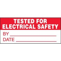 Electrical Safety Miniature Labels