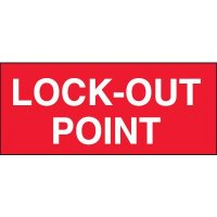 Lock-Out Point Miniature Labels