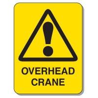 Crane Safety Signs - Overhead Crane