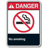 Chemical & Flammable Signs - Danger No Smoking
