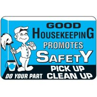 Good Housekeeping Floor Label