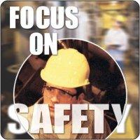 Focus On Safety Floor Label