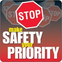 Safety Your Priority Floor Label