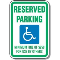 State-Specific Handicap Parking Signs - Nevada