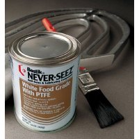 Never-Seez - White Food Grade Compound w/PTFE Never-Seez NSWT-14