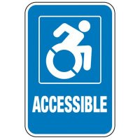 New York State Accessible Parking Sign