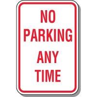 No Parking Anytime - No Parking Signs, Adhesive Vinyl