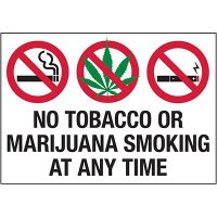 No Smoking Labels - No Smoking At Anytime Labels