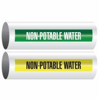 Non-Potable Water - Opti-Code™ Self-Adhesive Pipe Markers
