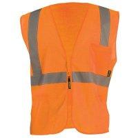 OccuNomix High Visibility Mesh Zipper Vests