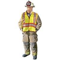 OccuNomix Premium Solid Public Safety Fire Vest Occunomix LUX-PSF-M/L