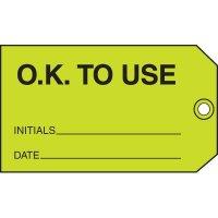 Ok To Use Status Label