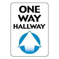 One Way Hallway Sign (Up Arrow)