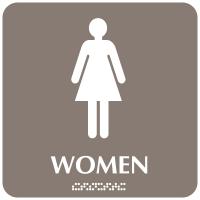 Women - Optima ADA Restroom Signs
