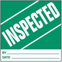 Inspected Handling Label