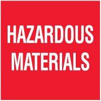 Hazardous Materials Package Handling Label