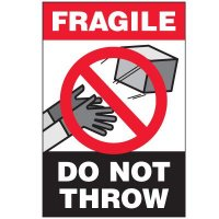 Fragile Label: Do Not Throw