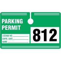 Rectangular Hanging Parking Permits