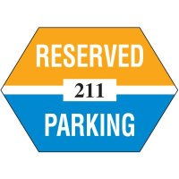 Adhesive Parking Permits