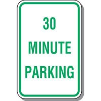 30 Minute Parking Sign
