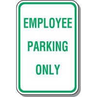 Employee Parking Signs - Employee Parking Only