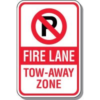 Fire Lane Tow-Away Zone Sign