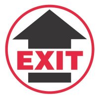Pavement Message Signs - Exit