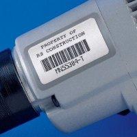 Permashield™ Bar Code Laser Printer Asset Labels