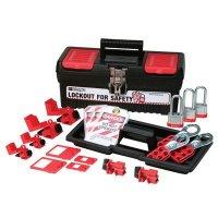 Brady 105965 Personal Breaker Lockout Kit w/ 3 Keyed Alike Steel Padlocks - Kit