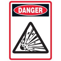 Pictogram Mining Sign - Explosive