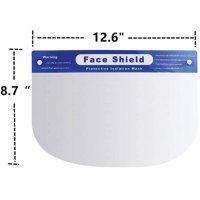 Adjustable Anti-Fog Full Face Shield – Case of 20