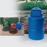 Plastic Waste Receptacles