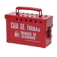 Brady 65040 Portable Metal Lock Box - Spanish