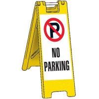 Portable No Parking Barricade