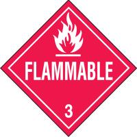 Flammable Hazardous Material Placards