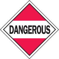 Dangerous Hazardous Material Placards