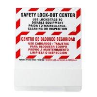 Prinzing® Bilingual Safety Lockout Station - Board Only