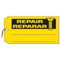 Bilingual Repair Production Status Tags